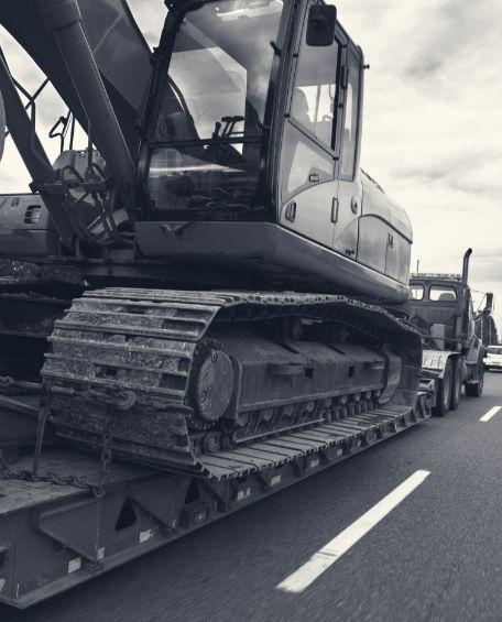 transport maszyn budowlanych warszawa